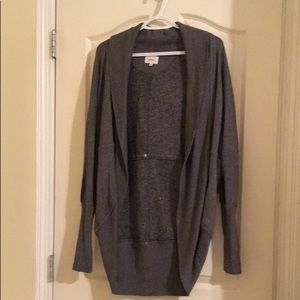 Aritzia Diderot Salt and Pepper Cardigan In M